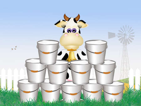 milking: funny cow milking