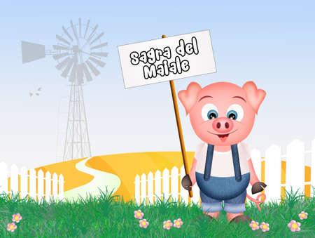 feast: pork feast