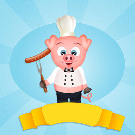 piglets: pig chef