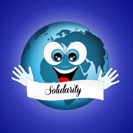 solidaridad: Solidaridad Foto de archivo