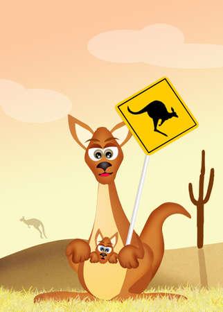 crossing: Kangaroo Crossing