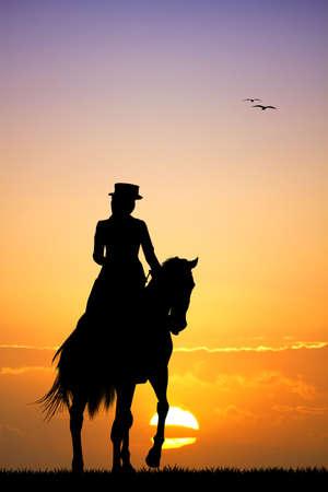 zooth�rapie: coureur � cheval