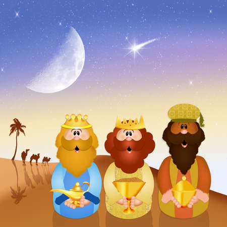 presepe: Wise men
