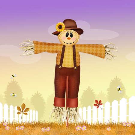 scarecrow: male scarecrow