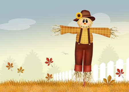 male scarecrow