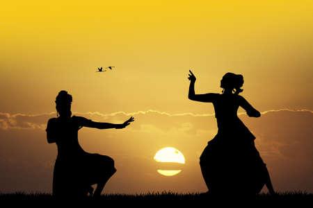 ragazze che ballano: Danza indiana