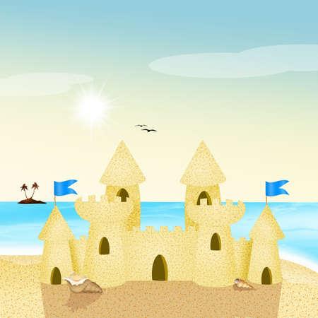 chateau de sable: Ch�teau de sable,