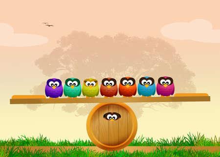 rapacious: funny owls