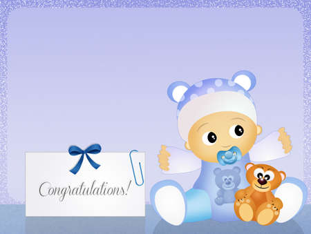 unborn: congratulations for newborn