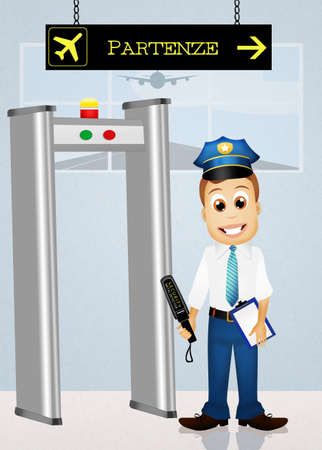 airport security: airport security inspection