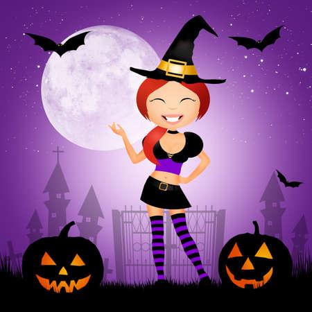 postcard: Halloween postcard