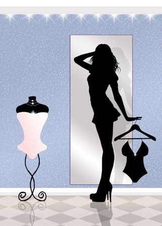 stockings woman: underwear shop