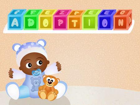 adoptive: adoption Stock Photo