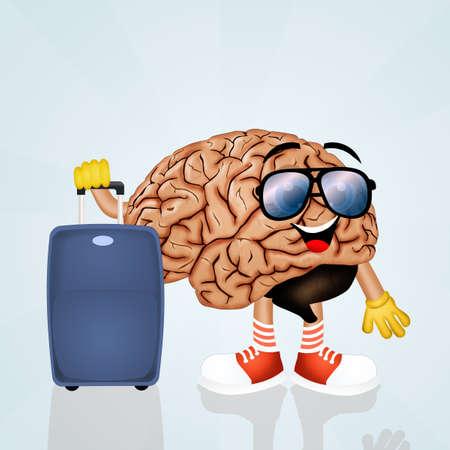 unplug: the brain goes on vacation