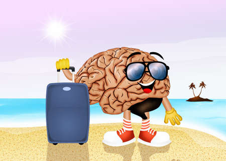 disconnected: brain on holidays