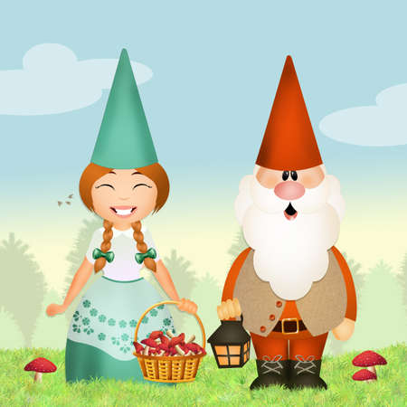 gnomes: gnomes in the forest