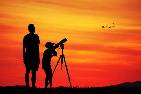 dad son: naturalistic observatory