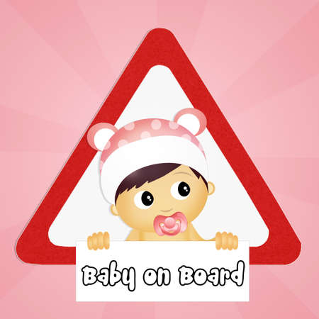 baby on board: baby on board sign