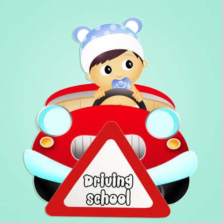 driving school: driving school