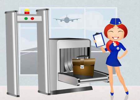 airport security: Airport security