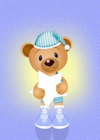 slumber party: funny bear