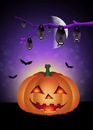 the bloodsucker: halloween pumpkin