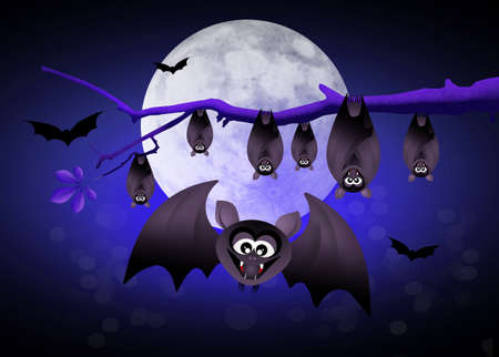 bloodsucker: Halloween bats