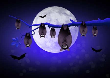 the bloodsucker: halloween bats