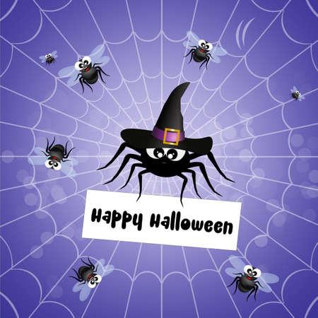 parasites: postcard of Halloween