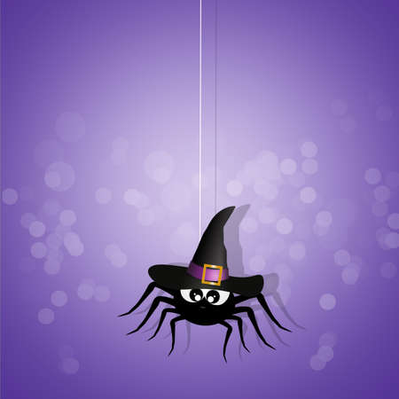 tarantula: Happy Halloween Stock Photo