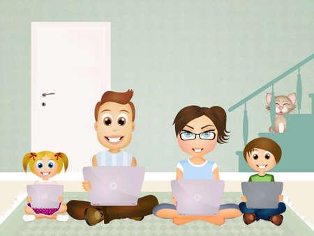 technological: technological family