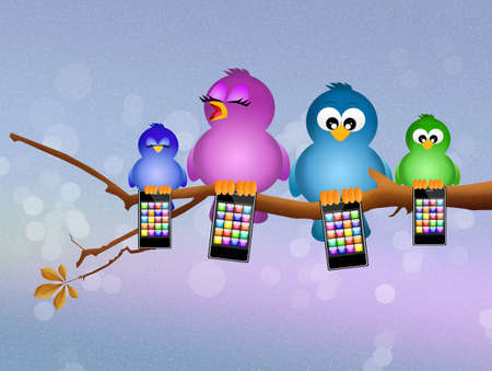 call of nature: birds with cellular