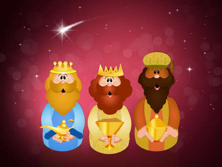 wise men: Three wise men