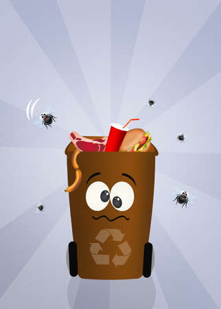 refuse: recycle organic Stock Photo