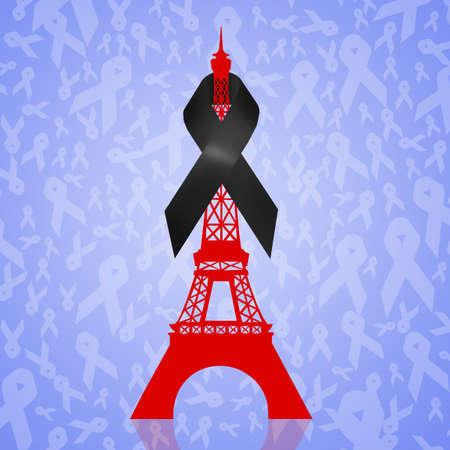 luto: París de luto