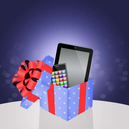 discard: tech gifts Stock Photo