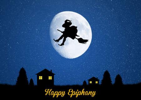 epiphany: Epiphany in the moonlight Stock Photo