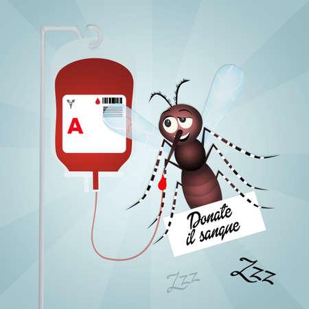 repellent: blood donation