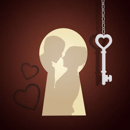 spying: the door of love
