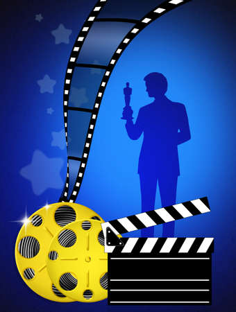 oscar: Oscar awards Stock Photo
