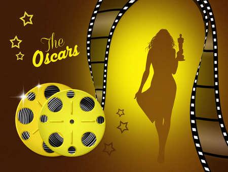 oscars: the night of the Oscars Stock Photo