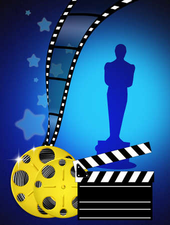 Oscar awards Stock Photo