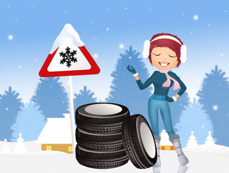 snow tire: obligation to snow tires