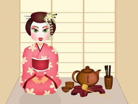 tea ceremony: Japanese tea ceremony