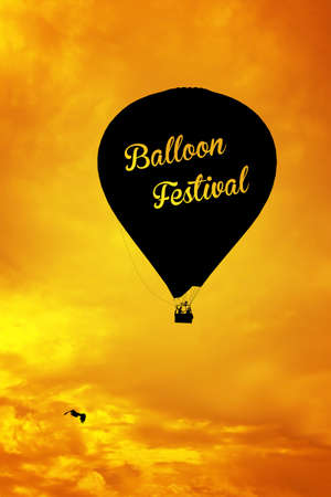 high up: balloons festival