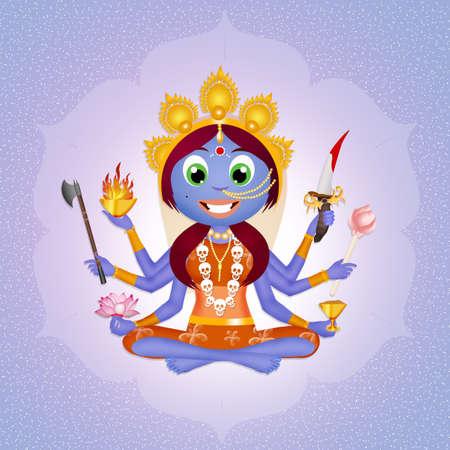 devotion: Goddess Kali