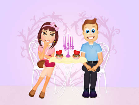 romantic: romantic dinner for two