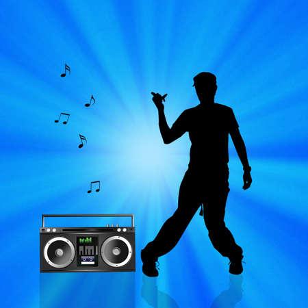 hip hop dancer: hip hop dancer