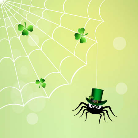 irish culture: spider for St.Patricks Day