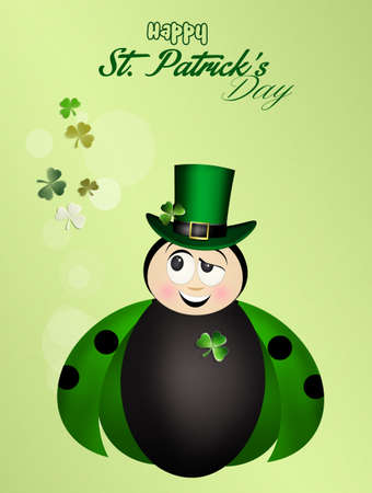 irish culture: St.Patricks Day postcard